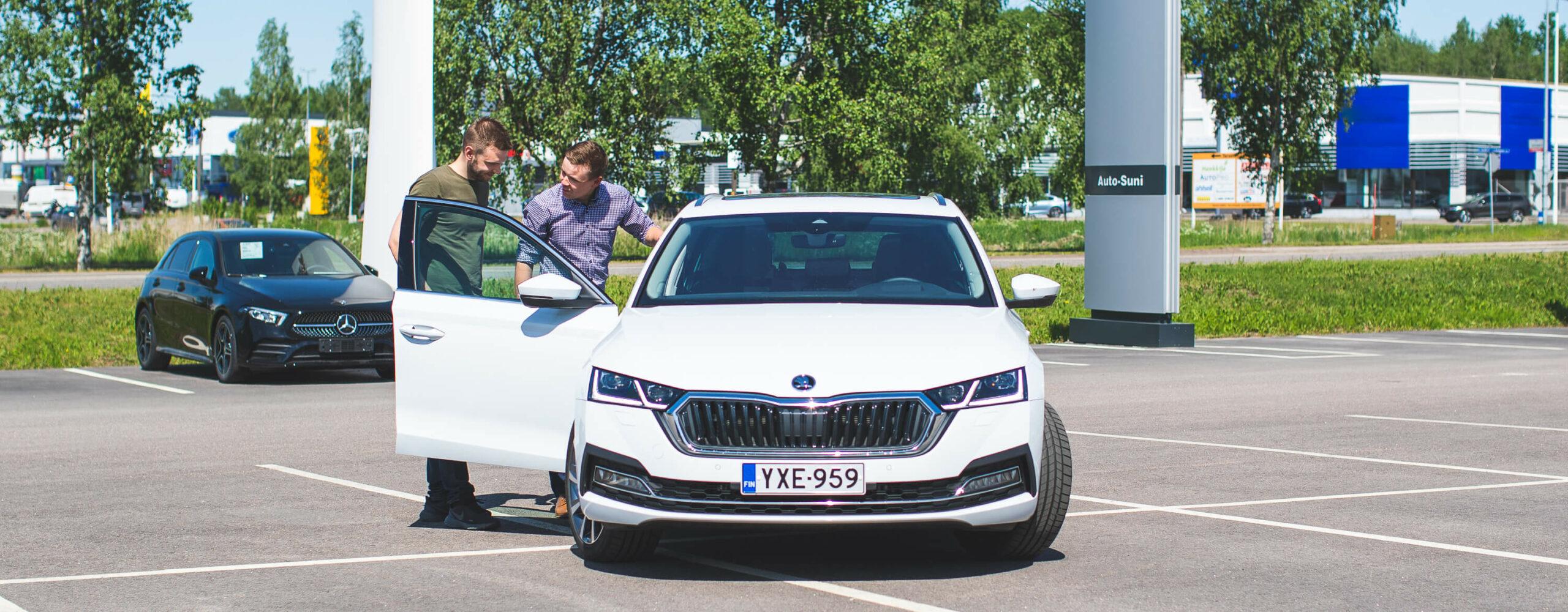 Täysin uusi Škoda Octavia