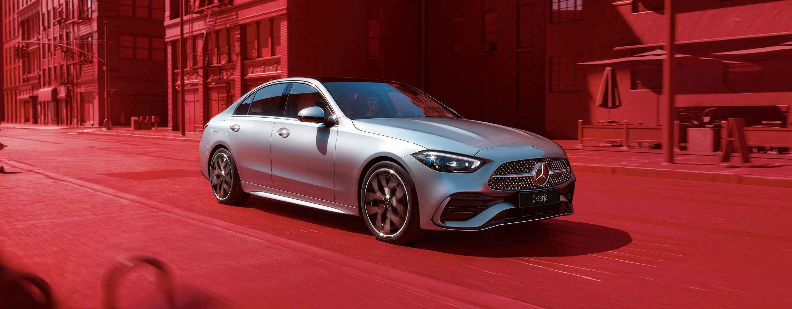 Uusi Mercedes-Benz C-sarja